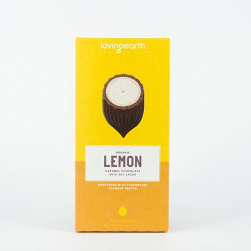(チョコレート)有機レモン