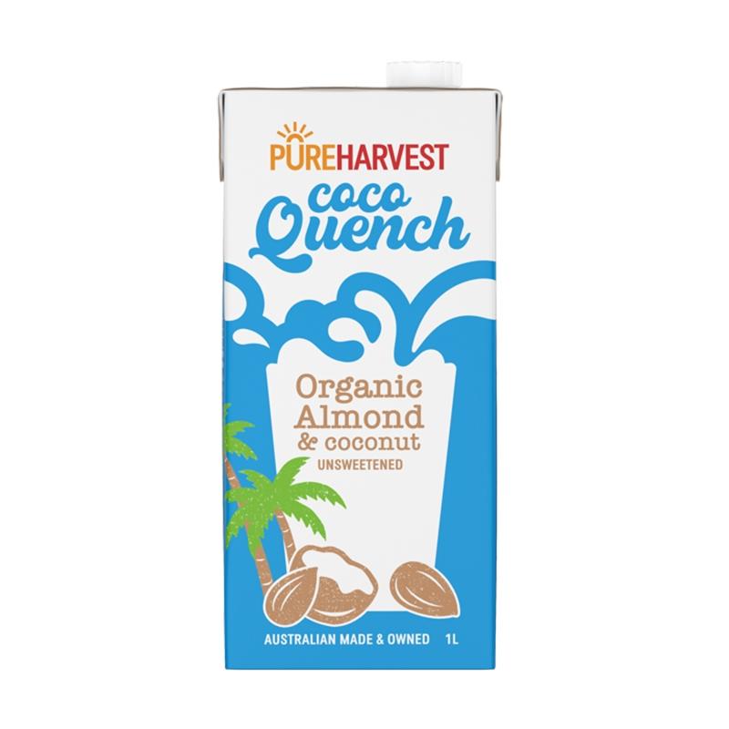 有機アーモンド&ココナッツミルクドリンク
