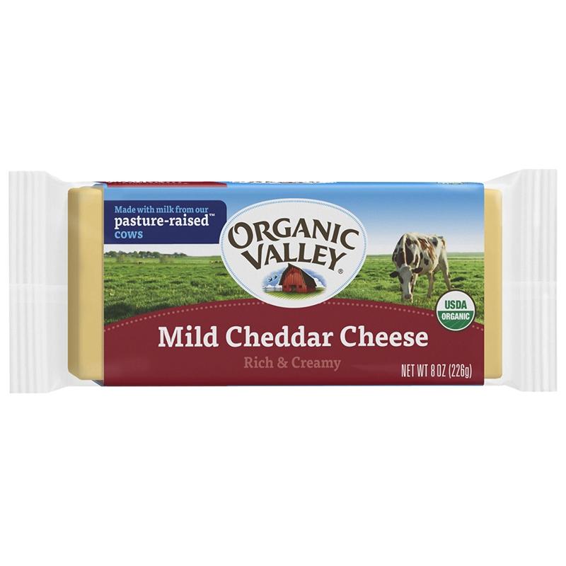 有機チェダーチーズ