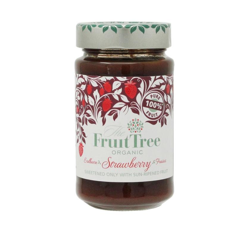 有機ストロベリースプレッド (Fruit Tree社)