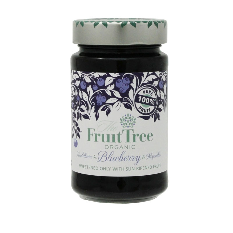 有機ブルーベリースプレッド (Fruit Tree社)