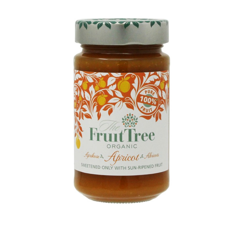 有機アプリコットスプレッド (Fruit Tree社)