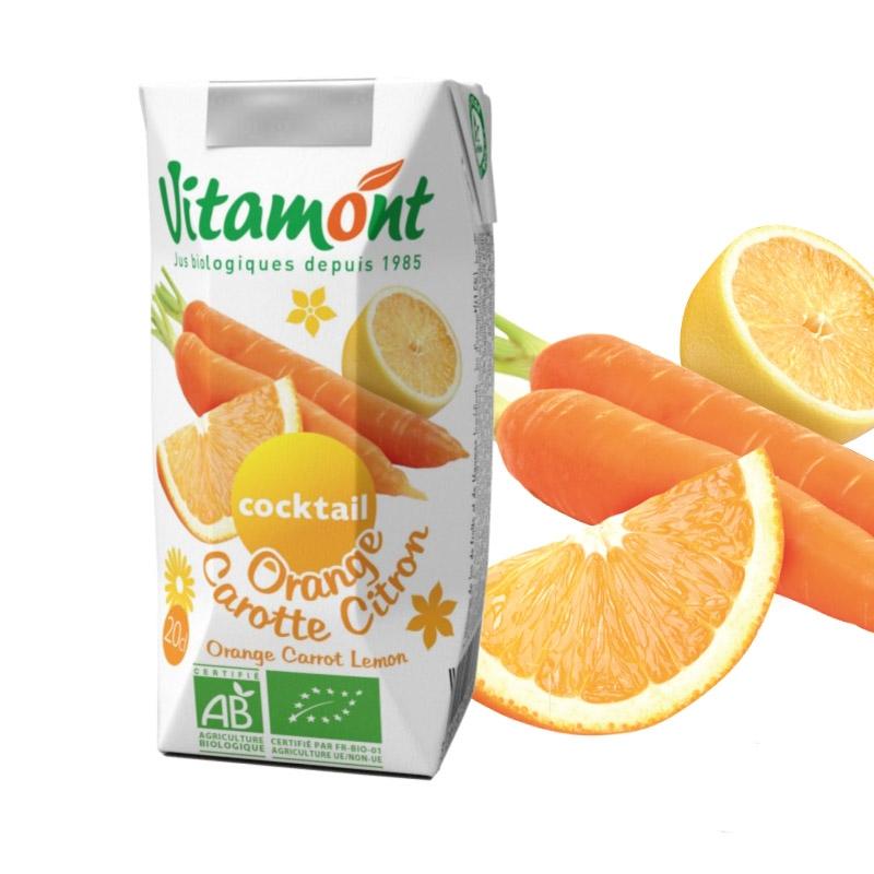 オレンジ・キャロット&レモンジュース