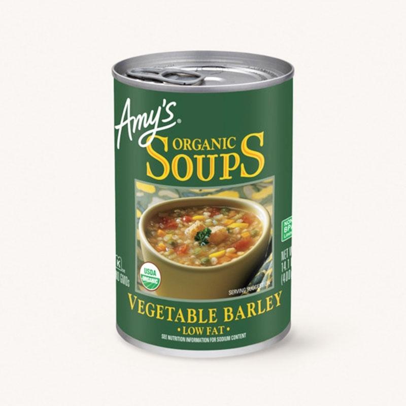 有機ベジタブルバーリースープ