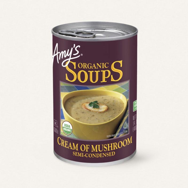 有機マッシュルームクリーム・スープ
