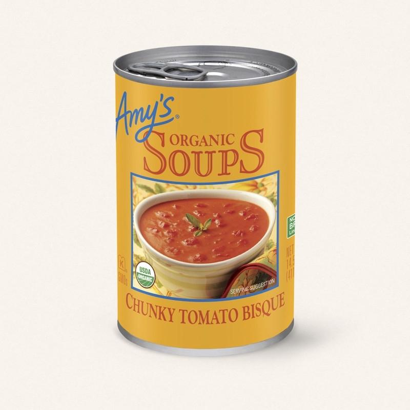 チャンキートマトスープ