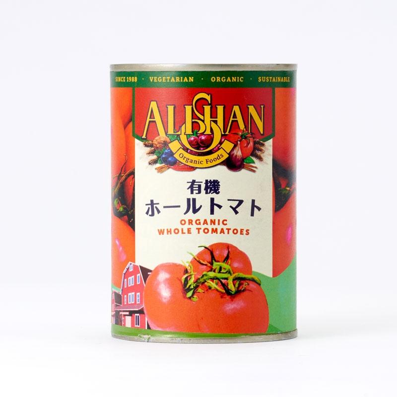 有機ホールトマト缶 (カンポ社)