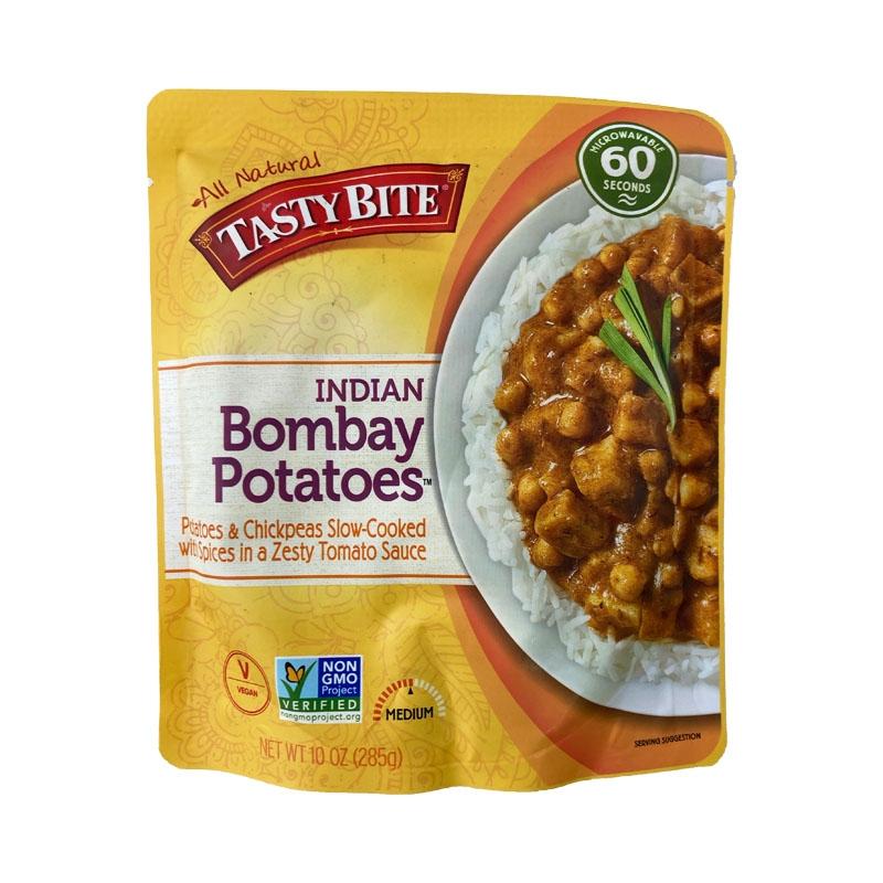 ボンベイ風ひよこ豆とじゃがいものカレー