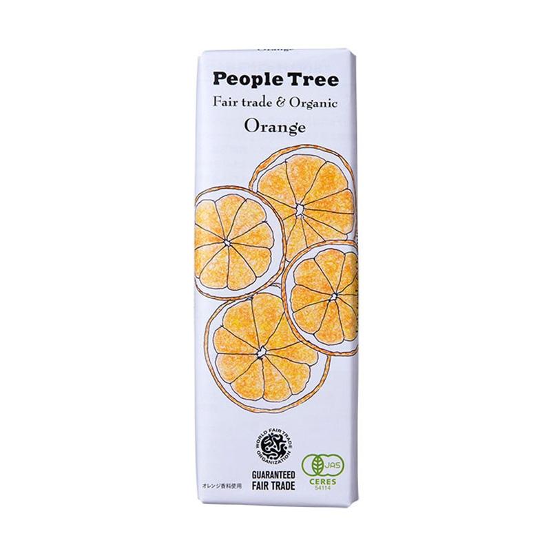 (ピープルツリー)オレンジチョコレート